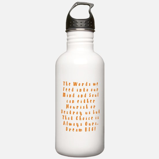 A Positive Meal Water Bottle