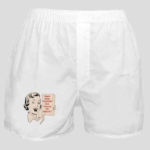 I Much Prefer Cougar Boxer Shorts