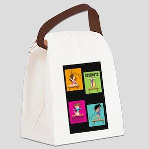 Balance Beam Quartet Canvas Lunch Bag
