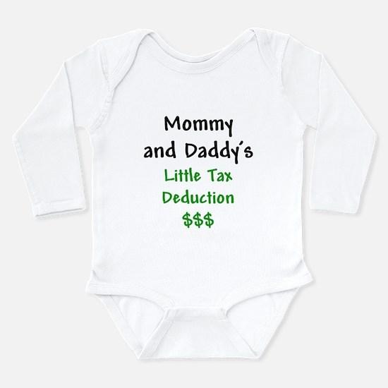 Cute Tax Long Sleeve Infant Bodysuit
