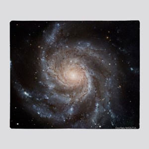 Pinwheel Galaxy M101 Throw Blanket