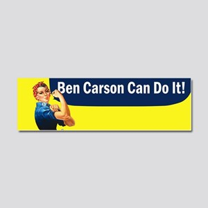 Ben Carson Can Do It Car Magnet 10 x 3