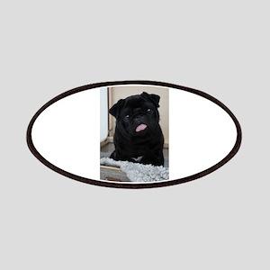 Black Pug Patch