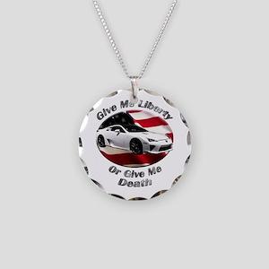 Lexus LFA Necklace Circle Charm