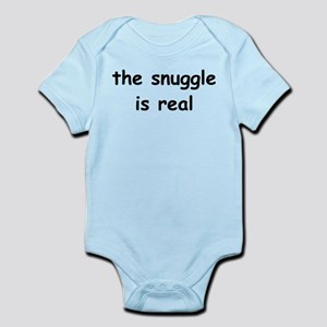 The Snuggle Is Real Infant Bodysuit