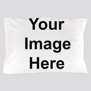 Mens Apparel Image on Back Pillow Case