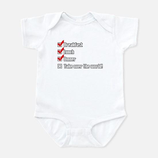 Taking over the World Infant Bodysuit