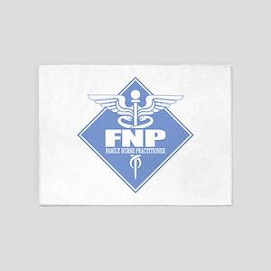 FNP (diamond) 5'x7'Area Rug