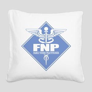 FNP (diamond) Square Canvas Pillow