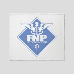 FNP (diamond) Throw Blanket
