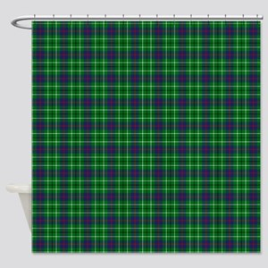 Duncan Scottish Tartan Shower Curtain