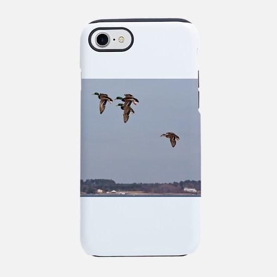 Mallards in flight iPhone 8/7 Tough Case