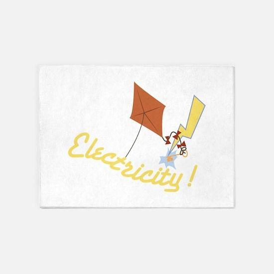 Electricity 5'x7'Area Rug