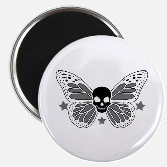 Butterfly Skull Magnets