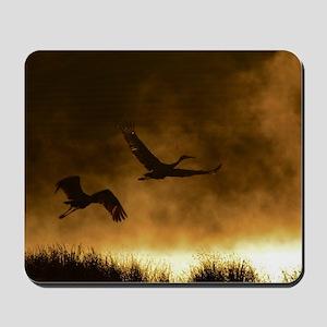 Rising Cranes  Mousepad