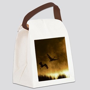 Rising Cranes  Canvas Lunch Bag