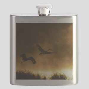 Rising Cranes  Flask