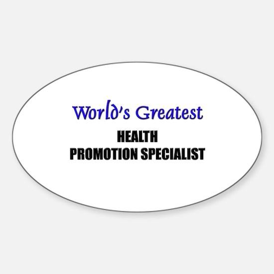 Worlds Greatest HEALTH PROMOTION SPECIALIST Sticke