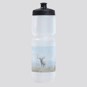 Rocky Mountain Elk Sports Bottle