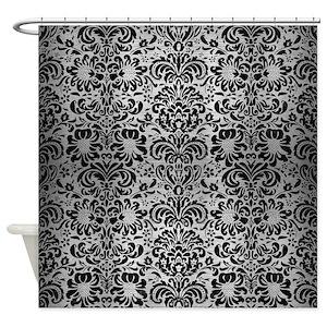 Damask Shower Curtains