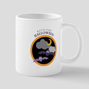 Batty For Halloween Mugs