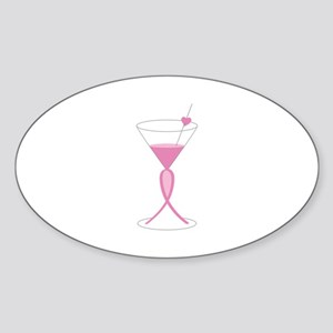 Awareness Ribbon Drink Sticker