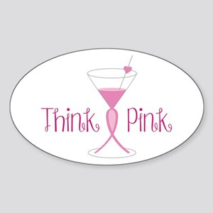 Think Pink Sticker