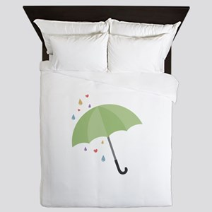 Rain Umbrella Queen Duvet