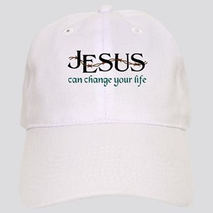 Jesus Can Change Life Baseball Cap