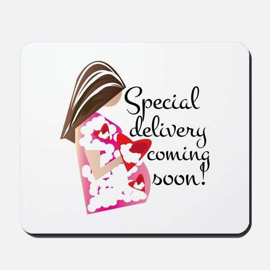 Special Delivery Mousepad