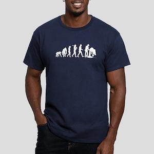 Concrete Mixer Men's Fitted T-Shirt (dark)
