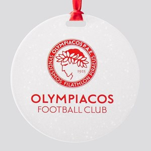 Olympiacos FC 2 Round Ornament