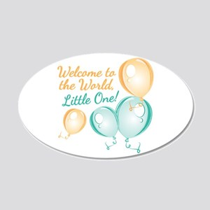 Welcome To World Wall Decal