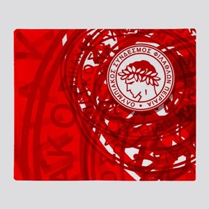 Olympiacos FC 4 Throw Blanket