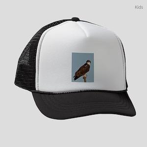 Osprey on a windy day Kids Trucker hat