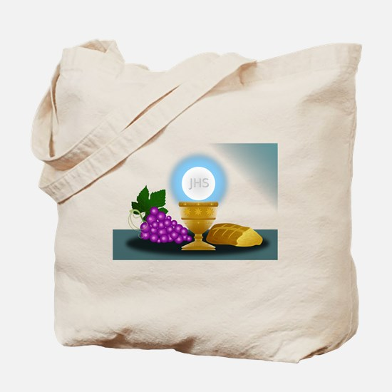 eucharist Tote Bag