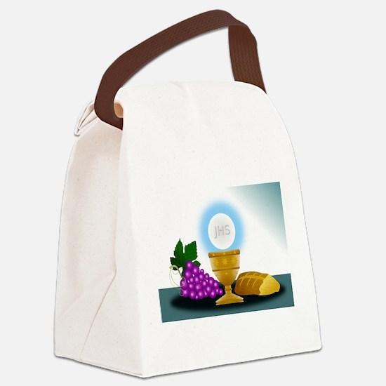 eucharist Canvas Lunch Bag
