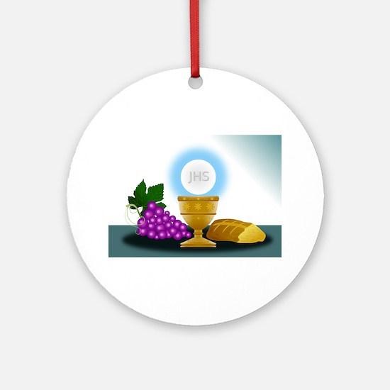 eucharist Round Ornament