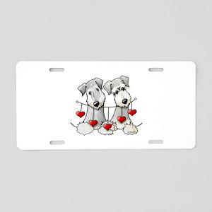 Heartstrings Pocket Ceskies Aluminum License Plate