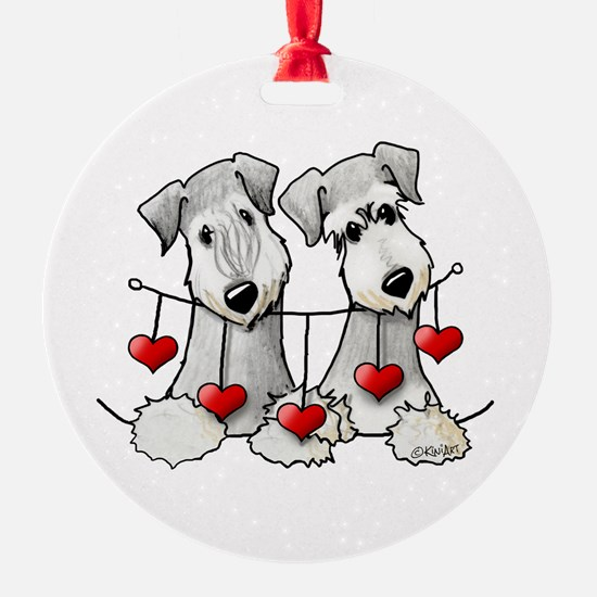 Heartstrings Pocket Ceskies Ornament