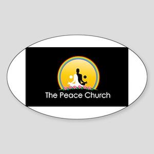The Peace Church Sticker