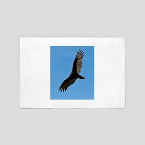 Turkey vulture 4' x 6' Rug