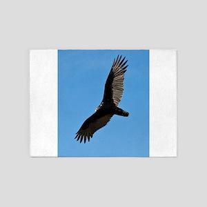 Turkey vulture 5'x7'Area Rug