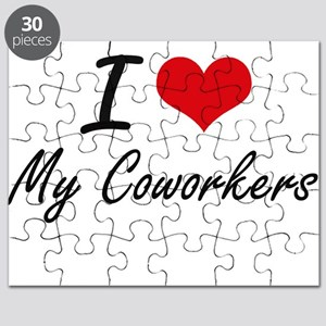 I love My Coworkers Puzzle