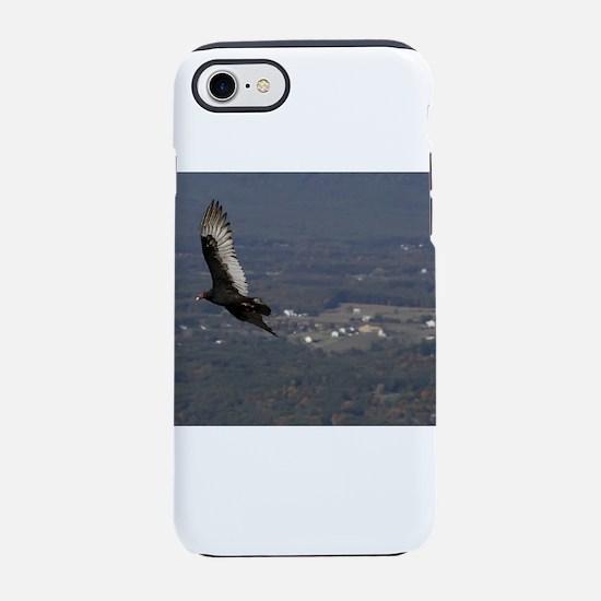 Turkey Vulture over Shenandoah National Park iPhon