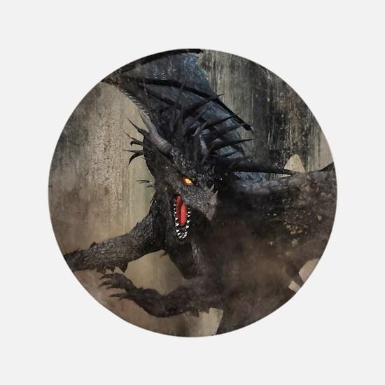 Black Dragon Button