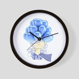 It's A Boy Wall Clock