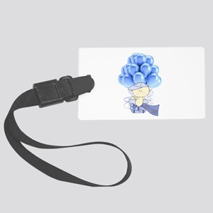 It's A Boy Large Luggage Tag
