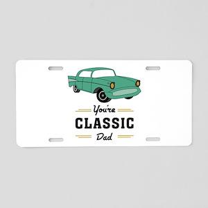 Classic Dad Aluminum License Plate
