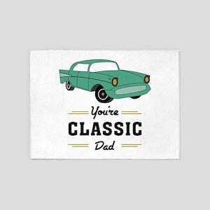 Classic Dad 5'x7'Area Rug